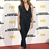 Keri Russell wore a sleek jumpsuit at the Dawn of the Planet of the Apes premiere in Madrid on Wednesday.