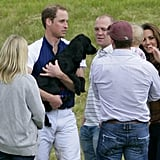 Prince William With Lupo