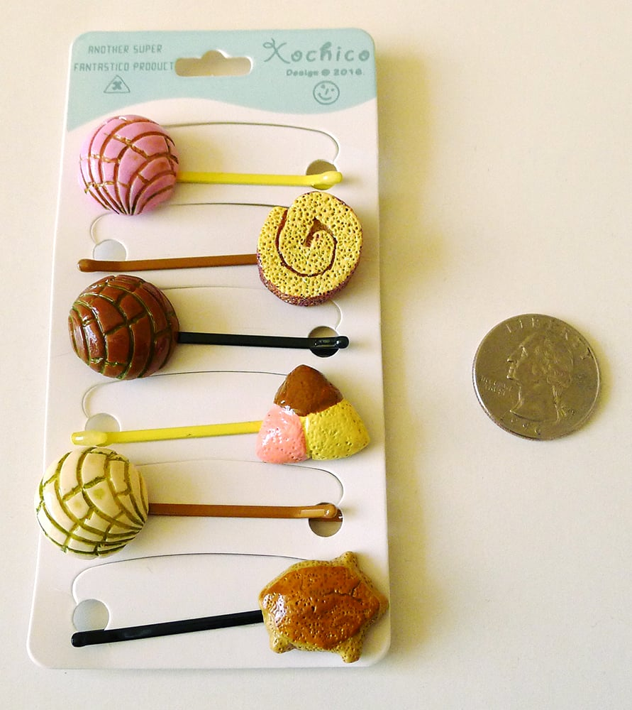 Bobby pins that will add a little funk to any hairstyle.Pan Dulce Bobby Pins ($12)