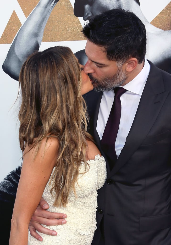 Sofia Vergara and Joe Manganiello, 2015