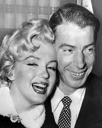 Joe DiMaggio and Marilyn Monroes FrontPage Wedding 100 Memorable