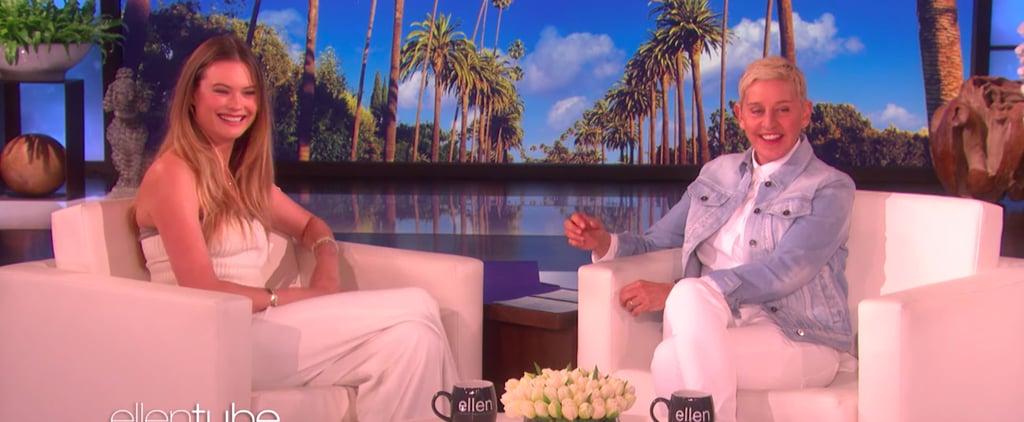 Behati Prinsloo on The Ellen DeGeneres Show May 2019