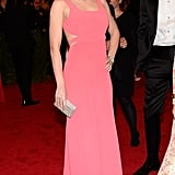 Emily Blunt looked sweet in pink.