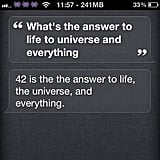 "4. The Number 42 Is the Answer ""'Forty-two,' said Deep Thought, with infinite majesty and calm."" Of why Douglas Adams chose 42, the answer to the ultimate question calculated over a period of 7.2 million years, the author answered, ""The answer to this is very simple. It was a joke. It had to be a number, an ordinary, smallish number, and I chose that one. Binary representations, base thirteen, Tibetan monks are all complete nonsense. I sat at my desk, stared into the garden and thought '42 will do' I typed it out. End of story."" It's a grave reminder that there is no absolute answer, and that one-size-fits-all responses are trivial. Source: Instagram user netviperz"