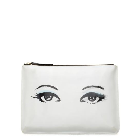 "This Kate Spade All Hours Winking pouch ($49, originally $98) actually ""winks"" at you. How cool is that?"