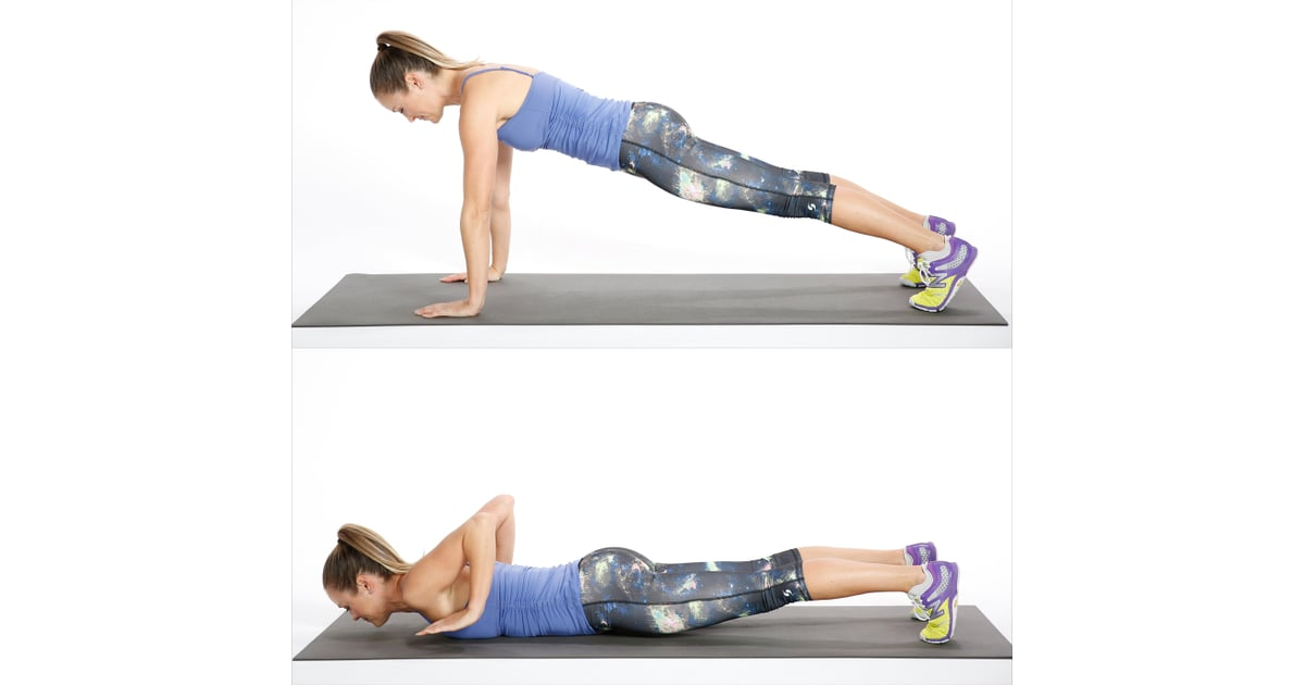 Circuit Three Negative Push Up Bodyweight Workout For