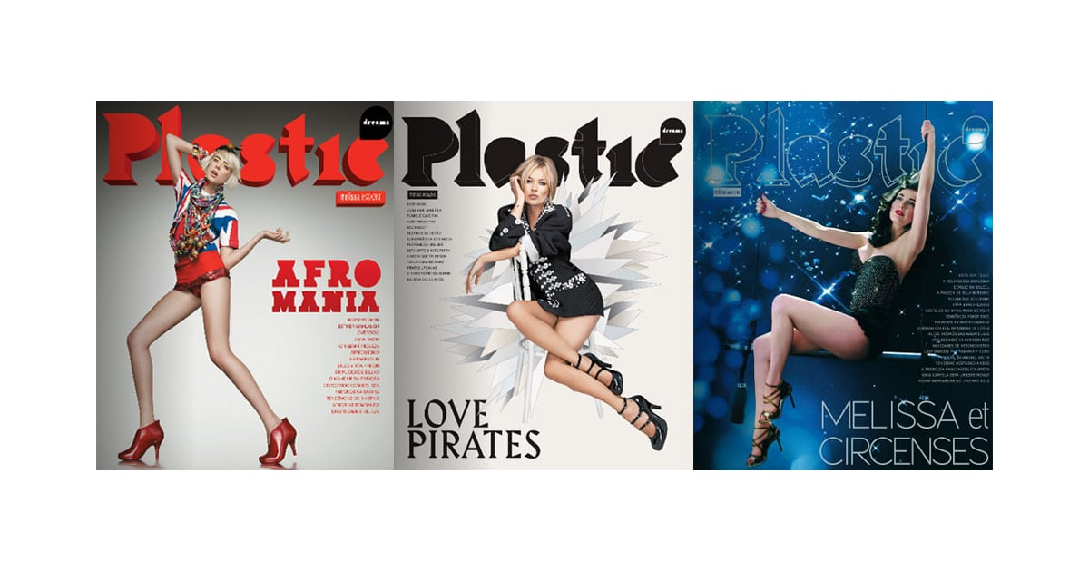 Kate Moss Agyness Deyn And Dita Von Teese On Plastic