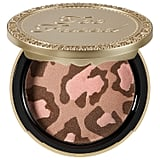 """""""I'm not a bronzing type of gal, but there's something pretty special about this Blushing Bronzer by Too Faced that gives the most flawless cheek ever!""""  Too Faced Pink Leopard Blushing Bronzer ($30)"""