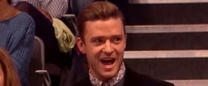 """Sit Down Right Now and Watch Justin Timberlake Do """"The Shopping Cart"""" Dance"""