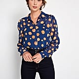 Be Buzzworthy Button-Up Top