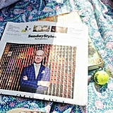 Tim Gunn's profile in The New York Times provided quality Sunday reading for Bergdorf Goodman. Source: Instagram user bergdorfs