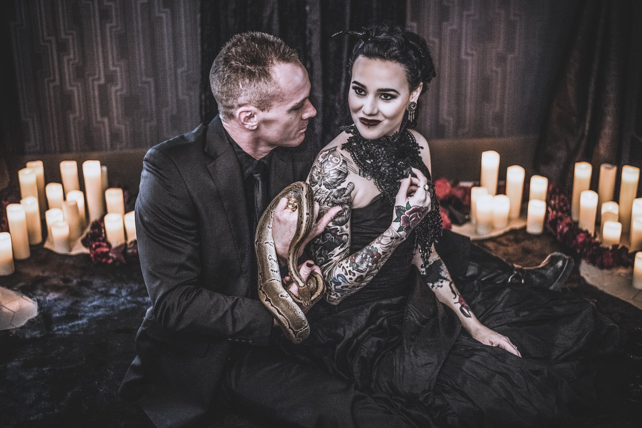 Halloween Goth Wedding Ideas  POPSUGAR Love & Sex
