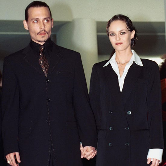 Johnny Depp and Vanessa Paradis attended a presentation of From Hell at the festival in 2001.