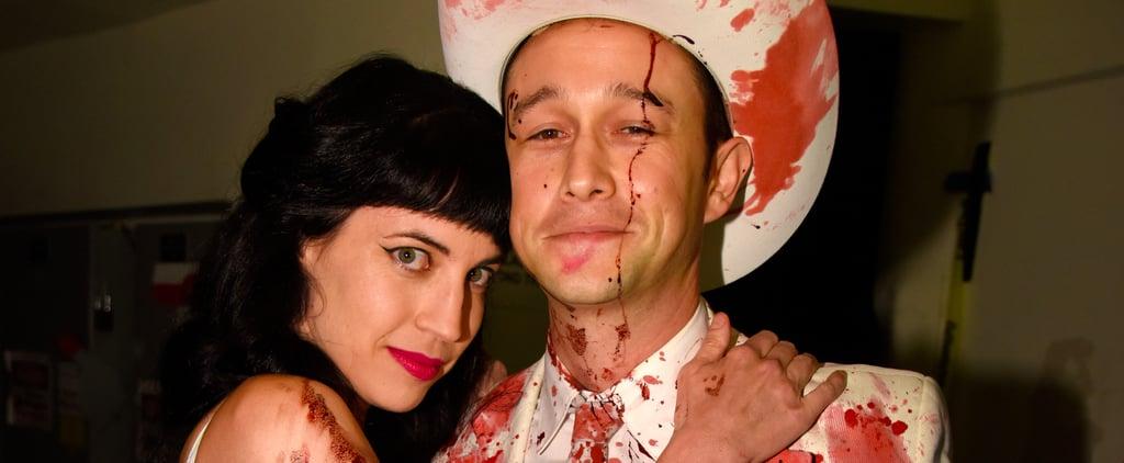 Joseph Gordon-Levitt and Wife at Hilarity for Charity's Show