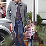 Ben Affleck and Seraphina grabbed coffee with Ben's mother in Brentwood.