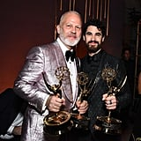 Pictured: Ryan Murphy and Darren Criss