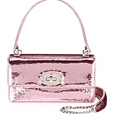 Miu Miu Cleo Sequined Top-Handle Shoulder Bag