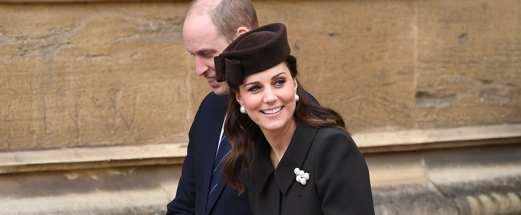 Kate Middleton Pearl Earrings on Easter 2018