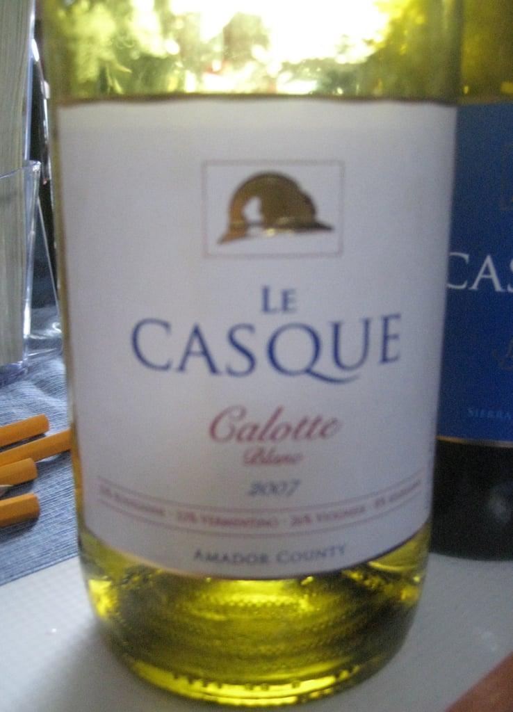 Le Casque 2007 Calotte Blanc