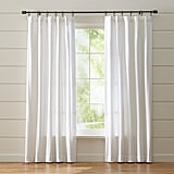 Celeste: Wallace White Curtain Panel