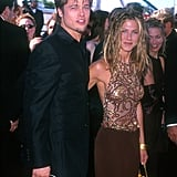Brad was accompanied by then-wife Jennifer Aniston at the Emmys in September 1999.