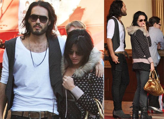 Photos of Russell Brand and Katy Perry on a Date