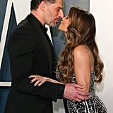 Joe Manganiello and Sofia Vergara at the Vanity Fair Oscars Afterparty