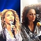 Hair Stuck in a Fan Beyoncé