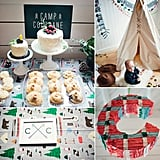 A Modern Camp-Inspired First Birthday Party