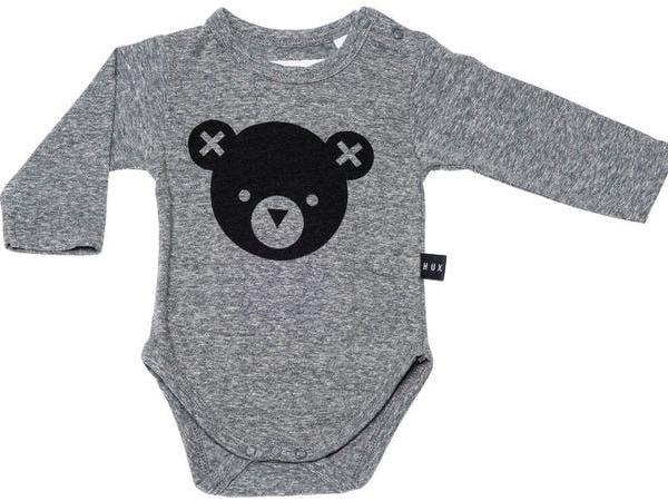 Hux Bear Long Sleeve Onesie ($37)