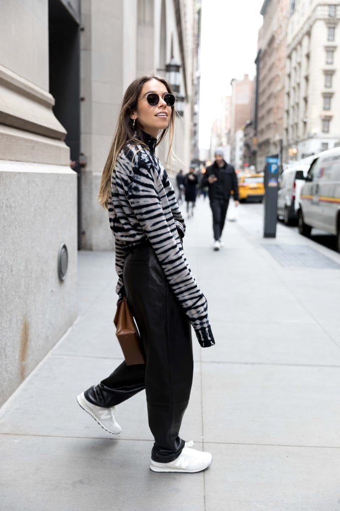 Outfit 3: The Printed Turtleneck