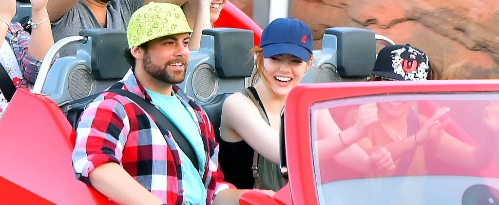 Emma Stone Does Disneyland With Her Brother After Andrew Garfield Split
