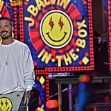 "J Balvin Performing ""Bobo"""
