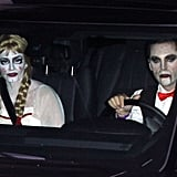 Courteney Cox as a Creepy Doll and Johnny McDaid as a Vampire