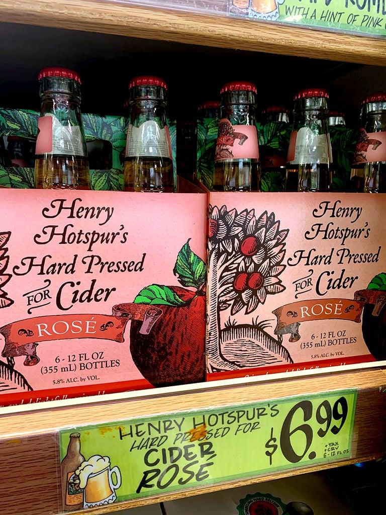 Henry Hotspur's Hard Pressed For Rosé Cider ($7)
