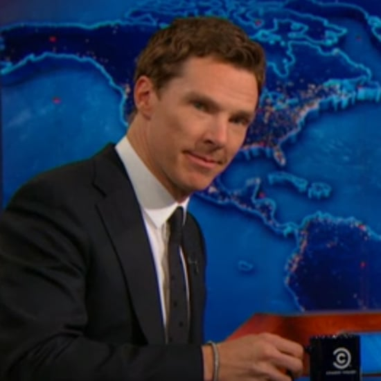 Jon Stewart to Benedict Cumberbatch: I Want to Rip Your Clothes Off