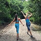 Olivia and competing pal Miss Minnesota Jessica Scheu explored Baton Rouge, LA.