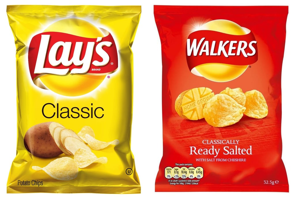 Lay's and Walkers | Food Brands With 2 Names | POPSUGAR Food Photo 7