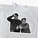 Chandler and Joey Sticker
