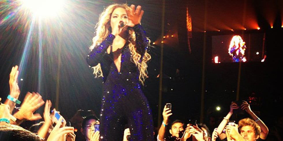 Video: Robert Pattinson Leads a Who's Who of Stars at Beyoncé's LA Show
