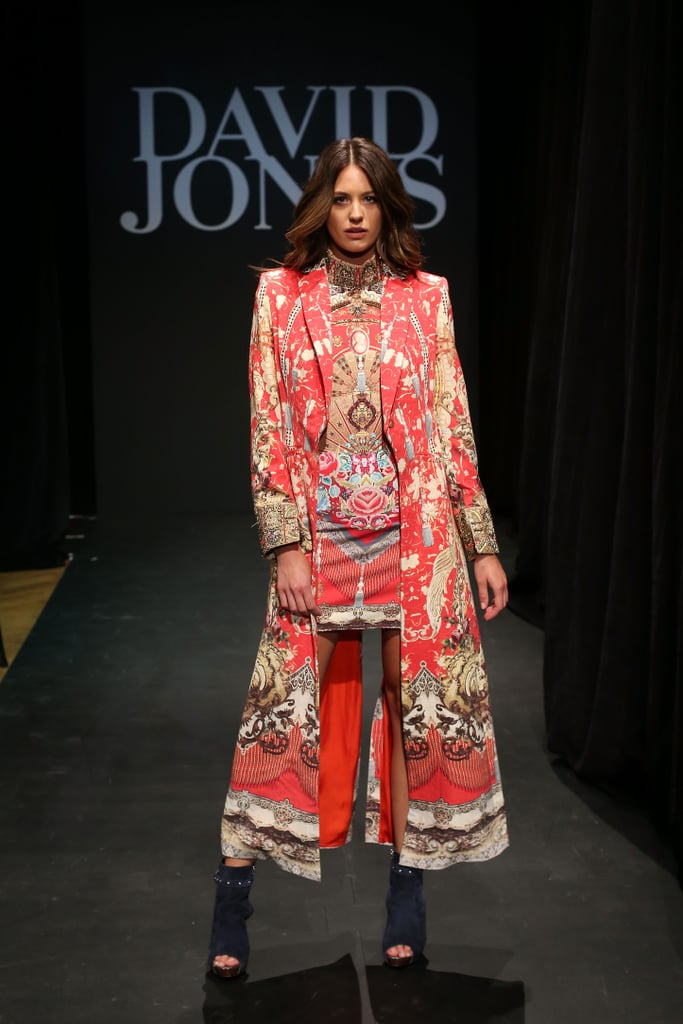 David Jones Autumn Winter Runway Pictures 2016 Popsugar