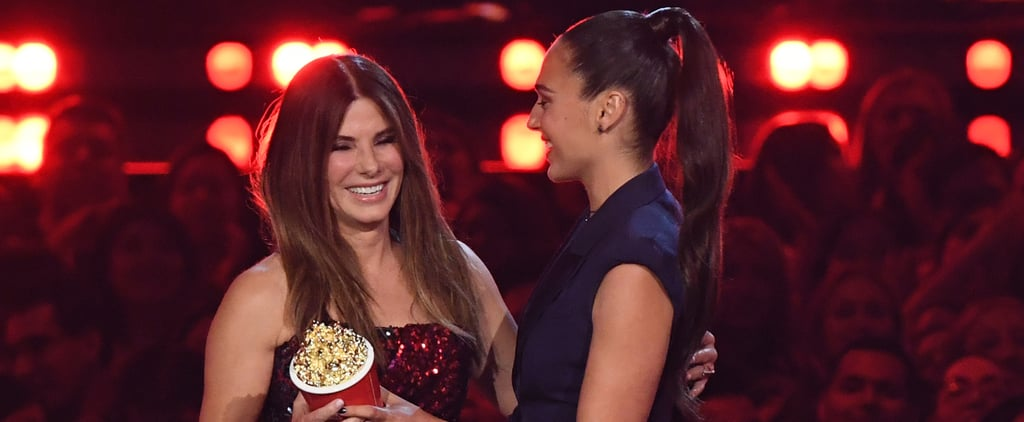Sandra Bullock Sequin Top at the MTV Movie and TV Awards