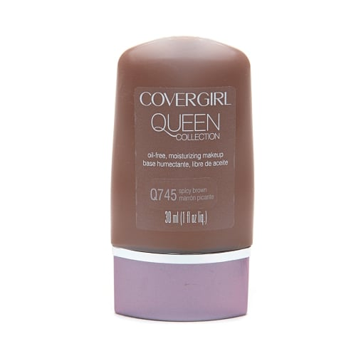 For the ladies with deeper complexions, check out CoverGirl Queen Collection Oil-Free Natural Hue Liquid Makeup ($9) in your local drugstore aisle. The shade range is darker than any other line, so there will be no more mixing up your own.