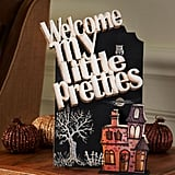 Halloween Haunted Chalkboard ($2-$15)