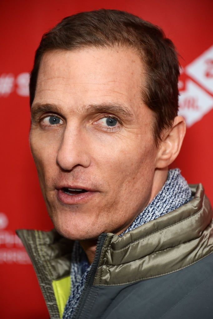 Matthew McConaughey attended the premiere of Mud at Sundance.