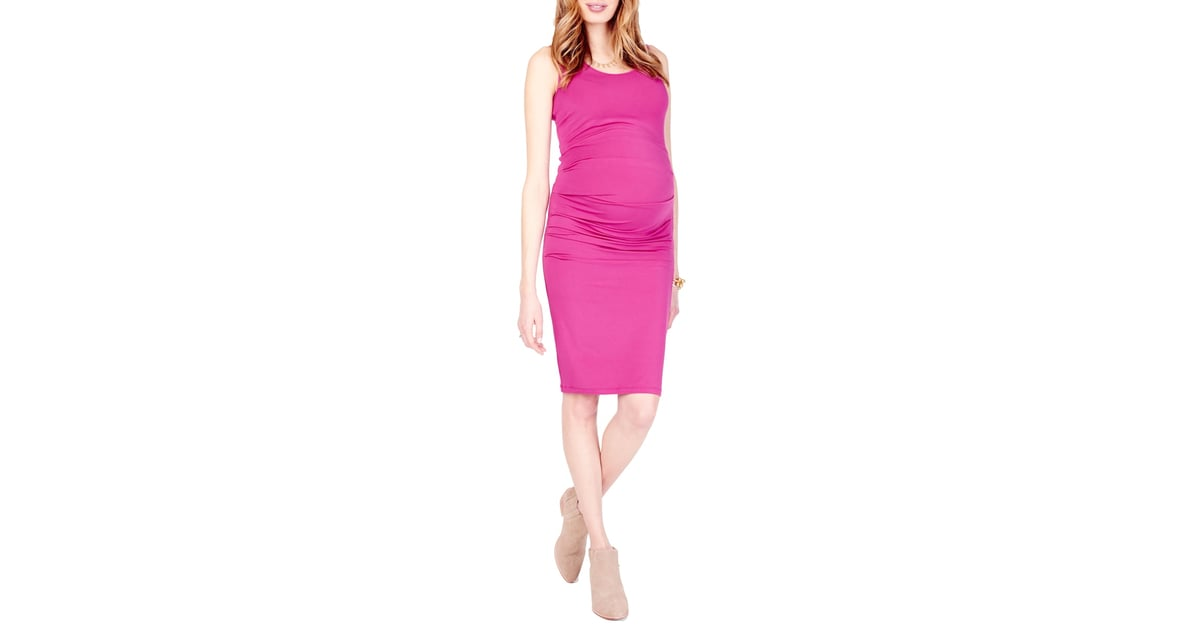 9b54fdb0d0cef Ingrid & Isabel Ruched Maternity Tank Dress | Best Maternity Dresses ...