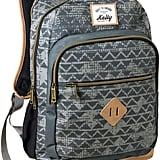 Printed Triangle Backpack