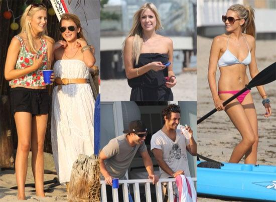 Photos of The Hills Cast on Malibu Beach