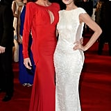 Lucy Pargeter and Charley Webb