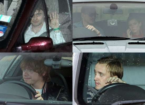 Pictures of Daniel Radcliffe, Tom Felton, Rupert Grint, David Thewlis, Anna Friel at Harry Potter Wrap Party